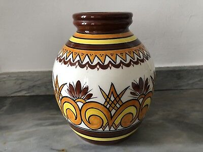Rare Grand Vase Ancien Henriot Quimper