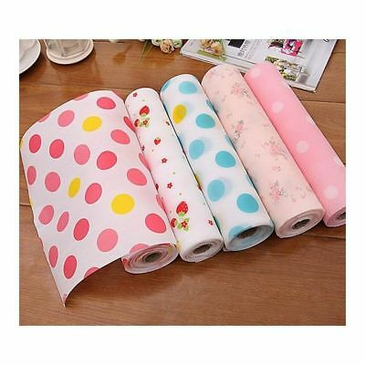 Table Placemat Anti-slip Moisture Waterproof Cupboard Liner Roll Kitchen Mat Pad