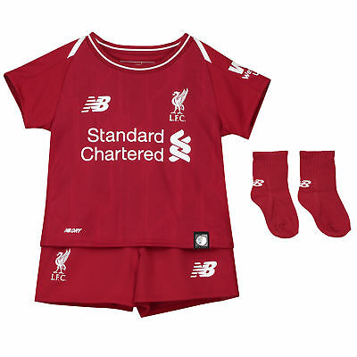 Official Liverpool Home Baby Kit 2018-19 New Balance Football