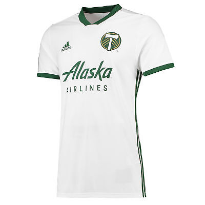 Official Portland Timbers Football Away Shirt Tee Top Jersey 2018 Mens adidas