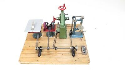 Wilesco Workshop Equipment For Static Live Steam Engines