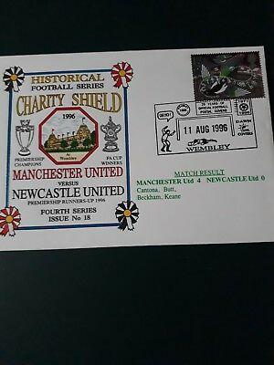 Manchester United Postal Cover First Day Cover Newcastle