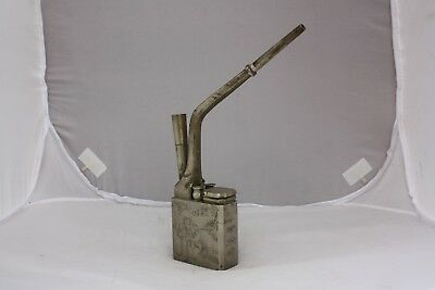 19th Century Chinese Paktong Pewter Water Pipe