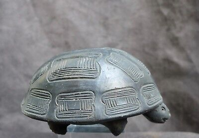 Nice old pottery turtle whistle, North U.S.A  20 C.