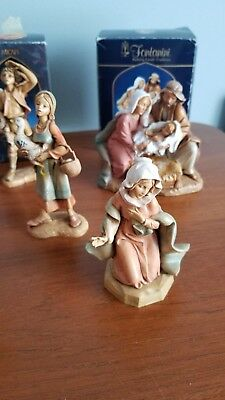 fontanini nativity set Lot of 5
