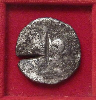 Celtic tribes imitating Philip II AR26 silver tetradrachm 2ndc BC Large coin