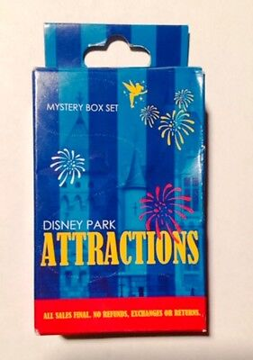 Disney Attractions & Characters Mystery Collection Pin Box (2 Pins In Box)