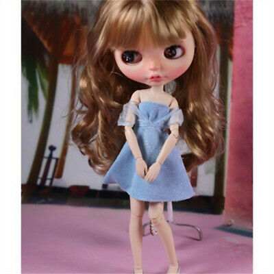 12inch Doll Clothes 1/6 Ball Jointed Doll Princess Dress Outfits For Blythe