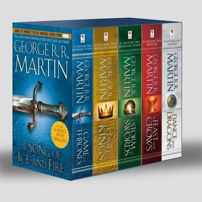 Game Of Thrones Audiobook Collection 1-5 George R.R. Martin Digital Download MP3