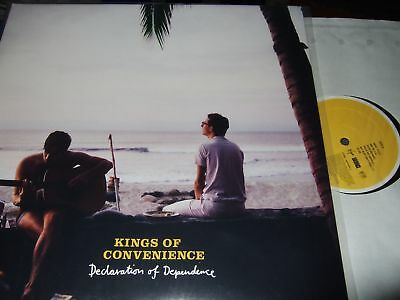 Kings Of Convenience : Declaration Of Dependence Lp 2009 Virgin Eu