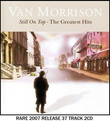 Van Morrison Very Best 37 Greatest Hits Collection RARE 2007 Rock Pop Irish 2CD