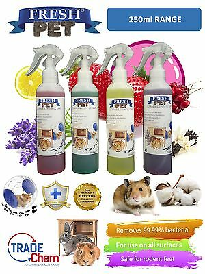 250ml FRESH PET Rodent Specialist Disinfectant - Rabbit Hutches and Cages