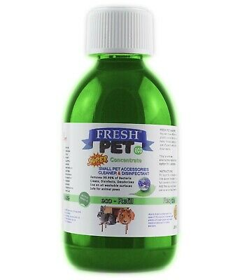 Fresh Pet Small Pets eco-Refill Disinfectant 250ml w/ empty 5L Apple