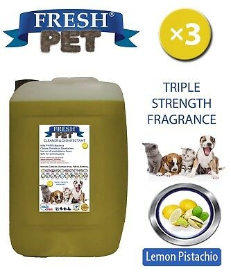 Fresh Pet Niche Chien Désinfectant Triple Force Parfum 20L Citron Pistache