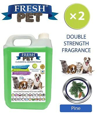 Fresh Pet Niche Chien Désinfectant Double Force Parfum - 5L Pin