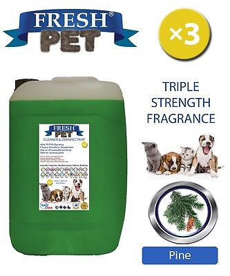 Fresh Pet Niche Chien Désinfectant Triple Force Parfum 20L Pin