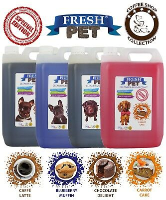 Frais Animal Niche Désinfectant Café Magasin Collection - Prefilled 4 X 5L