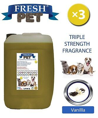 Fresh Pet Niche Chien Désinfectant Triple Force Parfum 20L Vanille