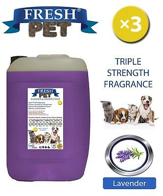 Fresh Pet Niche Chien Désinfectant Triple Force Parfum 20L Lavande