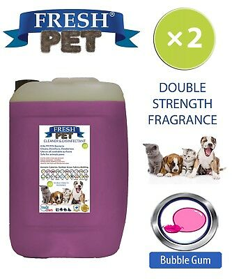Fresh Pet Niche Chien Désinfectant Double Force Parfum 20L Bubblegum