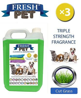 Fresh Pet Niche Chien Désinfectant Triple Force Parfum - 5L Coupe Pelouse
