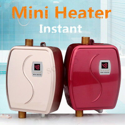 instant electric indoor tankless water heater boiler mini constant