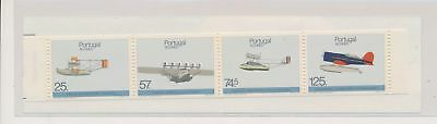 LJ61337 Portugal Azores aviation aircraft airplanes fine booklet MNH