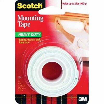 """PACK OF 12 - 3M 114 1"""" X 50"""" Scotch™ Mounting Tape"""