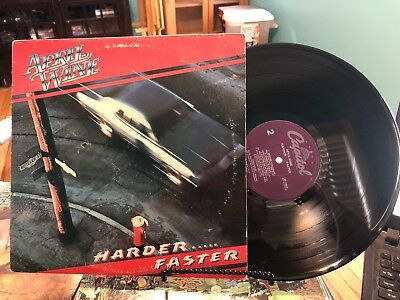 APRIL WINE HARDER FASTER 1979 Purple Capitol Lp Record