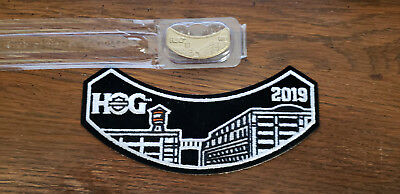 2019 Harley Davidson - HOG Patch and Pin
