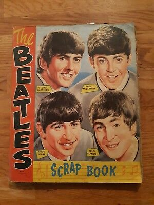 Official Beatles scrapbook full of scraps from 1964