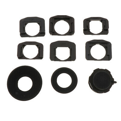 1.08x-1.60x Zoom Viewfinder Eyepiece Eyecup Magnifier for Canon Nikon Sony
