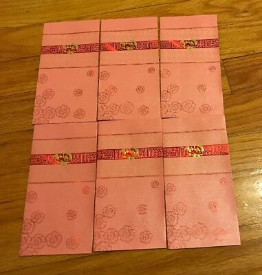 Pack of 36PCS Chinese New Year Money Envelope HongBao Red Packet Lucky Money Bag
