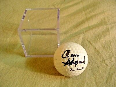 Astronaut Moonwalker Alan Shepard Signed Golf Ball Apollo 14 NICE