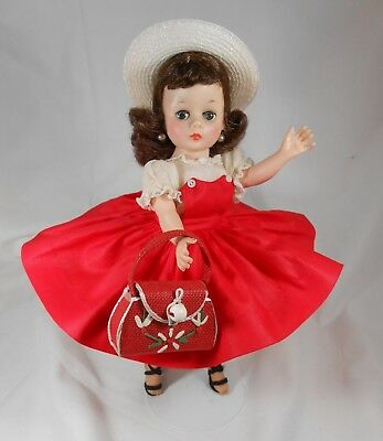 Vintage Madame Alexander CISSETTE Brunette Beauty in #810 from 1960 - Gorgeous!
