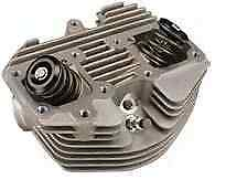 "Ultima Natural Finish Stock 74"" & 80"" Front Cylinder Head for Harley Engines"