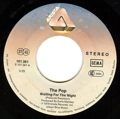 Vinyl Single : The Pop - Waiting for the night / Go !