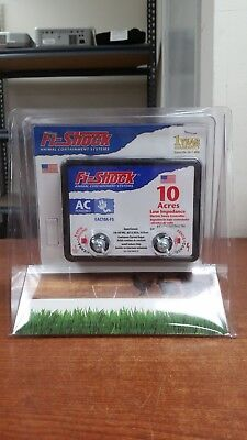 Fi-Shock EAC10A-FS Electric Fence AC-Powered 10 Acre Small Aimal, New| O6698