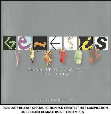 Genesis - The Very Best Greatest Hits Collection - RARE 2007 2CD (Phil Collins)