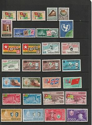 Togo - Colourful Mint and Used Stamp Selection   2 SCANS (1338)