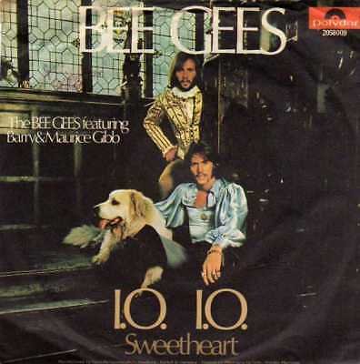 "The Bee Gees- IO.I.O./ Sweetheart, 7"" Vinyl Single"
