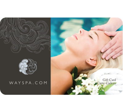 Buy a $100 WAYSPA Gift Card for $80 - Email Delivery