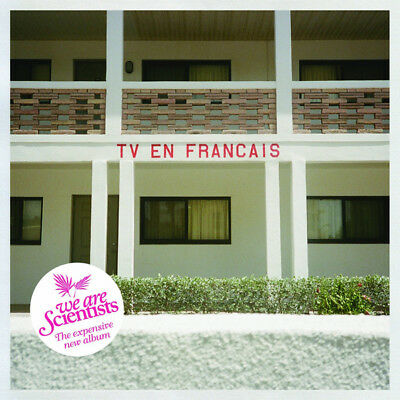 We Are Scientists - TV En Francais (2014)  CD  NEW/SEALED  SPEEDYPOST