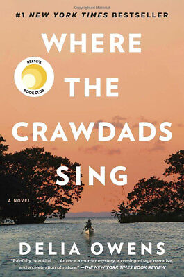 Where the Crawdads Sing by Delia Owens (Hardcover) Free Shipping