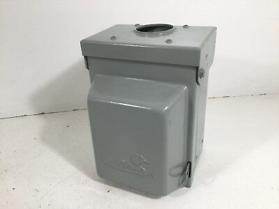 NEW Midwest Electric U501 Rainproof Unmetered Surface Power Outlet Box