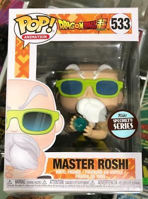 Dragon Ball Z Master Roshi Specialty Series Funko Pop 533 New In Package