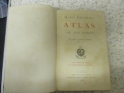 Antique Handy Reference Atlas , John Walker and Co