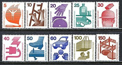 Germany Postage Stamps Scott 1074-1085, MNH Partial Set of Coil Stamps!! G1641a