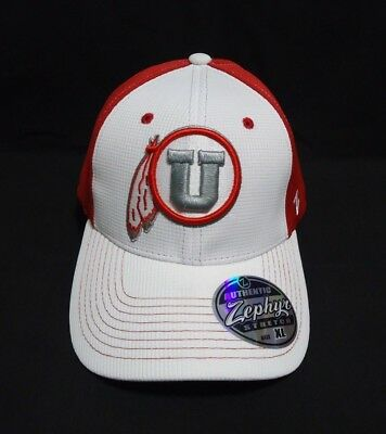 Clothing, Shoes & Accessories Unisex Clothing University Of Utah Utes Ncaa Flex Fitted Hat New Cap By Zephyr G45