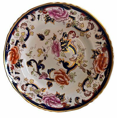 Beautiful Mason's Ironstone Mandalay Dinner Or Cabinet Plate